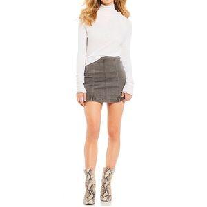 💫Free People | Denim Modern Femme Mini Skirt